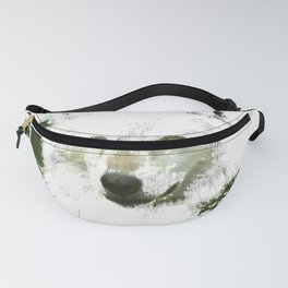 Mystical Wolf Fanny Pack