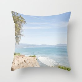 Morning in Santa Barbara Throw Pillow