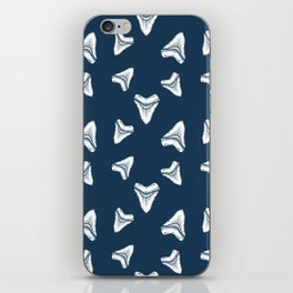 Sharks Tooth Pattern iPhone Skin