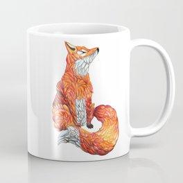 Feather Fox Coffee Mug