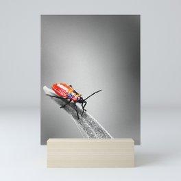 Red Bug Mini Art Print