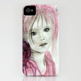 Words unsaid iPhone Case
