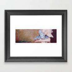 Heart is full Framed Art Print