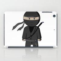 ninja iPad Cases featuring Ninja by Shyam13