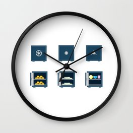 Loot Vault Wall Clock