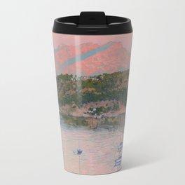 Bodrum. Pink sunrise Travel Mug