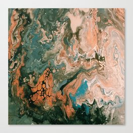 Atomic Rush Canvas Print