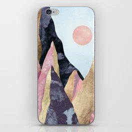 Mauve Peaks iPhone Skin