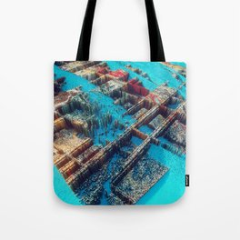 City of Cubes Tote Bag