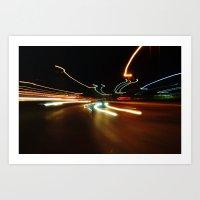 LIGHT IN MOTION Art Print