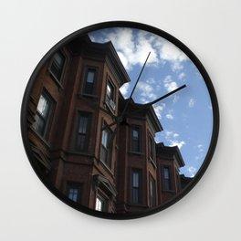 Rowhouses, Albany Wall Clock