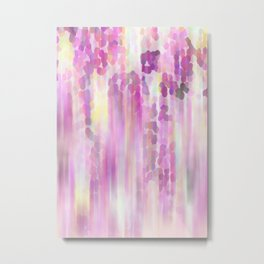 Flower Shower Metal Print