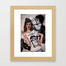Jourdan Dunn Framed Art Print