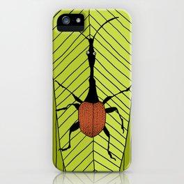 giraffe weevil iPhone Case