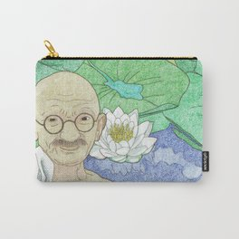 Gandhi Carry-All Pouch