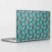 virginia Laptop & iPad Skins featuring Virginia Rose by Holly Helgeson