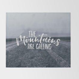 To the Mountain Throw Blanket