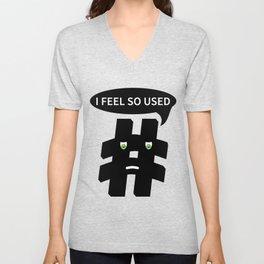 Hashtag Unisex V-Neck