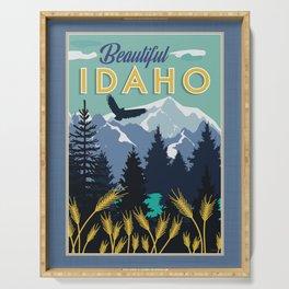 Beautiful Idaho Serving Tray