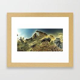 pass the horizon of Niheeli Framed Art Print