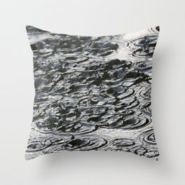 dripped Throw Pillow