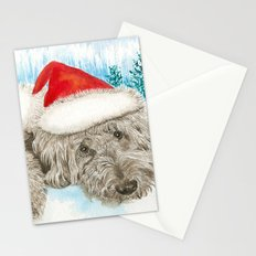Christmas Chocolate Labradoole Stationery Cards