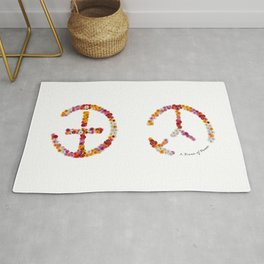 "A brand new - must have - ""IT-PEACE"" - Living Hell Rug"