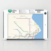milwaukee iPad Cases featuring Milwaukee Transit System Map by Carticulate Maps