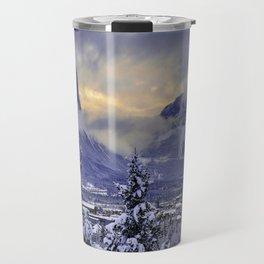Winter Wonderland #snow Travel Mug