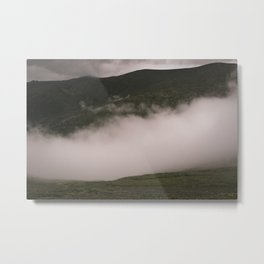 one step to the cloud Metal Print