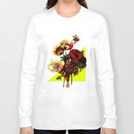 Vintage Bunch /Neon Wedge Long Sleeve T-shirt