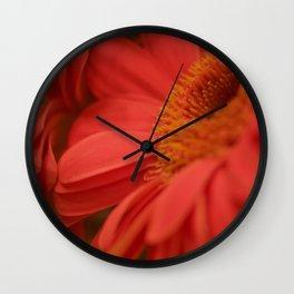Flower Beam Wall Clock