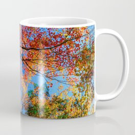Colorful, Autumn In New Hampshire by OLena Art Coffee Mug