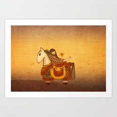 Dream Horse Art Print