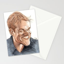 Matt Damon Stationery Cards