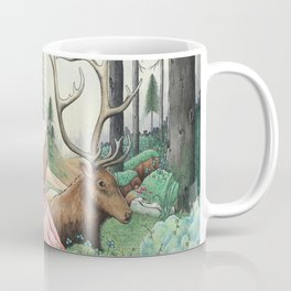 The Queen of the forest Coffee Mug