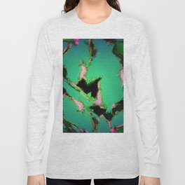 A working turquoise engine Long Sleeve T-shirt