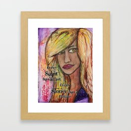 Every Saint.. Framed Art Print