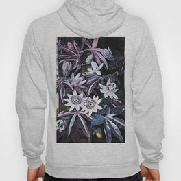 Temple of Flora Blue Lavender Mauve Hoody