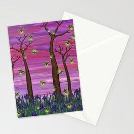 firefly sky Stationery Cards
