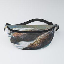 12,000pixel-500dpi - Claude Monet - Still Life with Pheasants and Plovers - Digital Remastered Fanny Pack