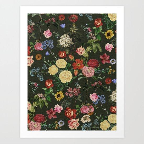 Vertical Garden II Art Print