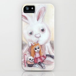 Ester and Bunny iPhone Case