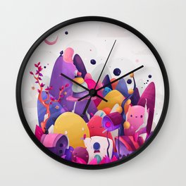 Home for Imaginary Friends Wall Clock