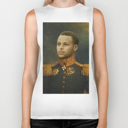 Steph Curry Classical Painting Biker Tank