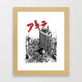 Kaneda Framed Art Print