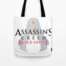Assassin's Creed Black Office Tote Bag
