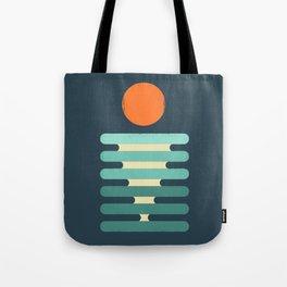 Minimalist ocean Tote Bag