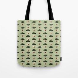 Tank pattern Tote Bag
