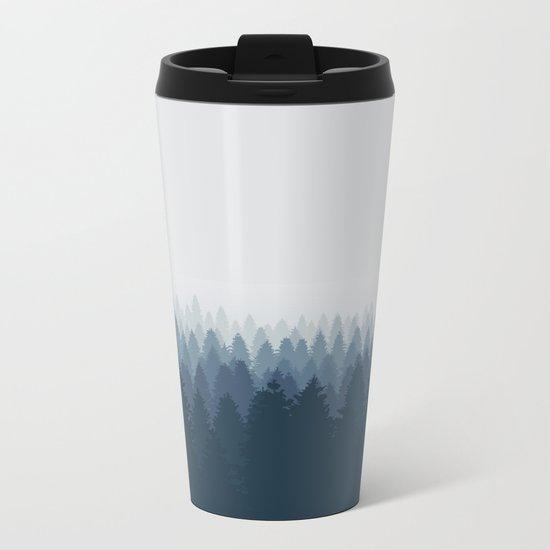 Blue mountain Metal Travel Mug